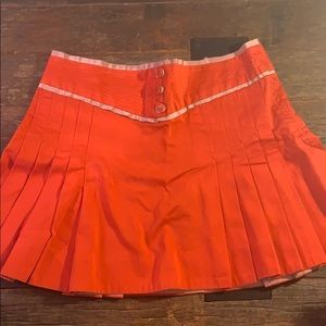 Marc Jacobs Bright Red Mini Skirt Size 6